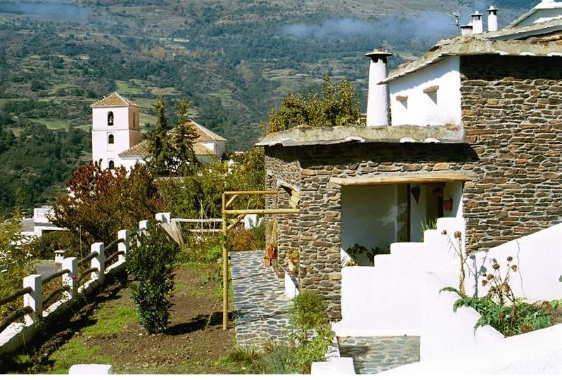 alpujarras bubion vacationvilla casa milagro terrace and garden