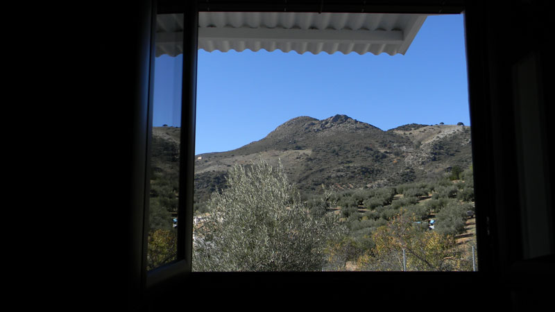 cordoba casa zagrilla holiday rental house view from the window