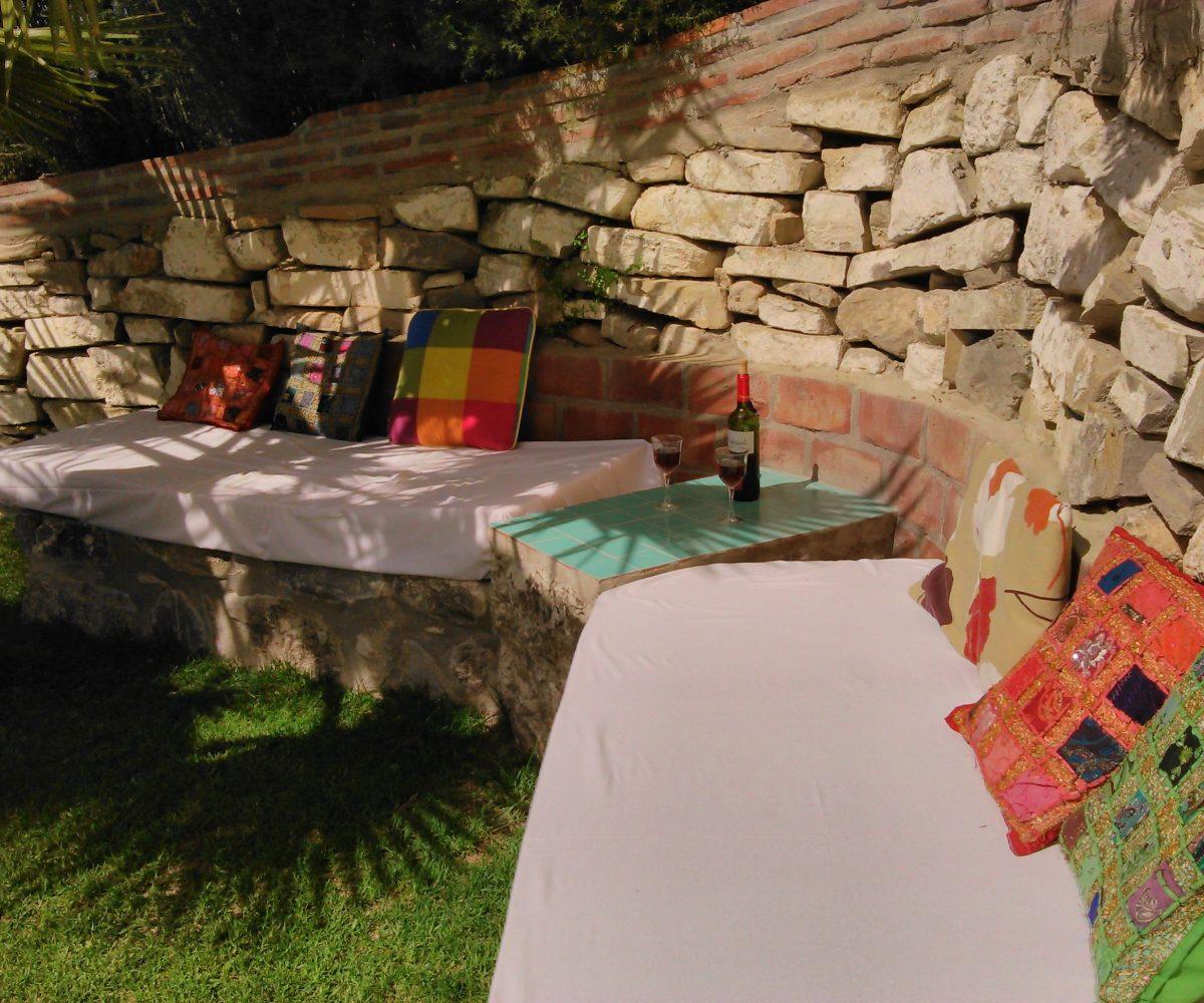 chillout corner andalucia rental villa la parada malaga