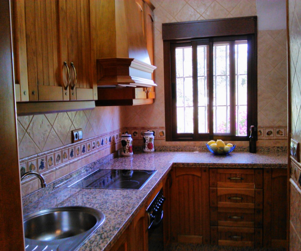 el torcal holiday rental bungalow casa la parada kitchen*