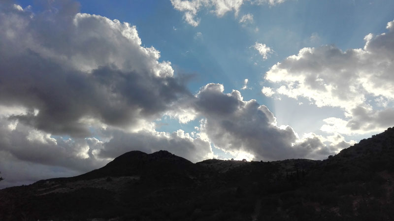 cordoba zagrilla alta surrounding landscape with clouds