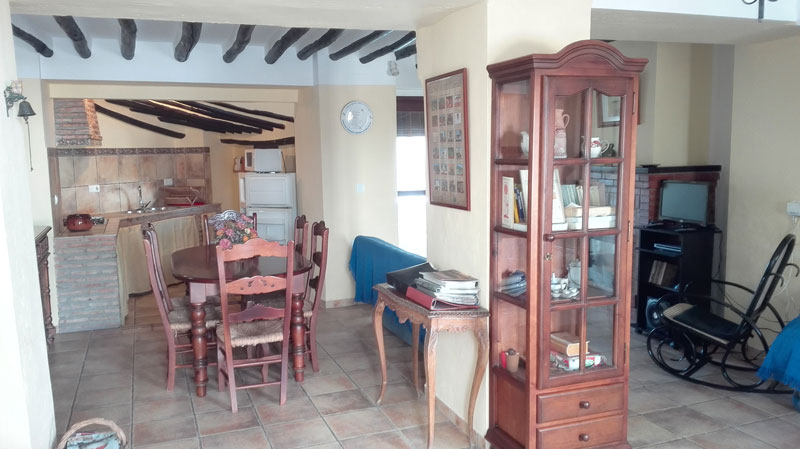 cordoba casa zagrilla holiday rental house dining corner and kitchen