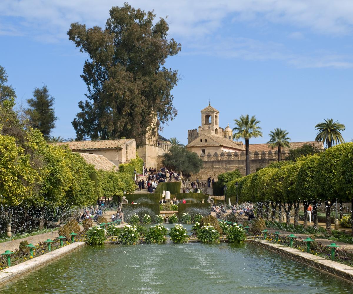 cordoue alcazar jardins andalousie espagne