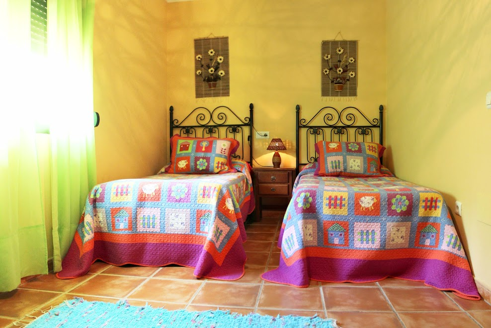 bedroom holiday house casa amarilla villanueva de la concepción malaga