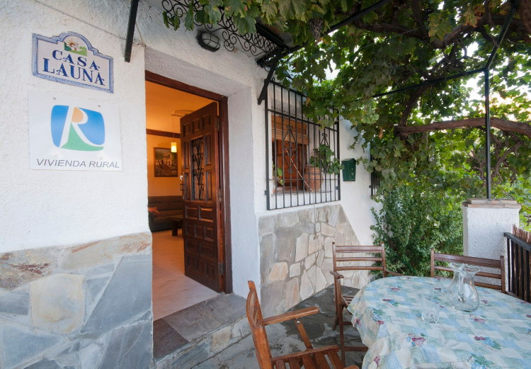 holiday rental casa launa pitres alpujarra granada terrace