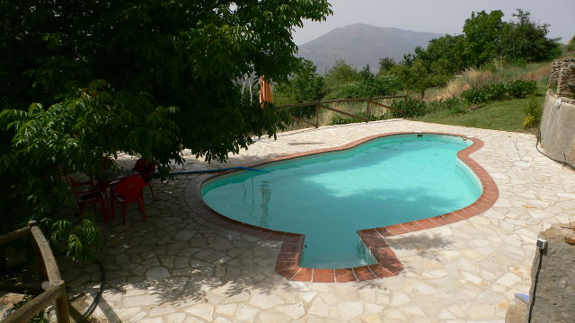 la alpujarra cortijo capilerilla holiday cottage pool