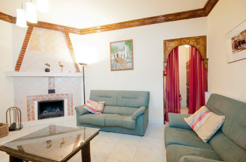 vakantiehuis casa launa pitres alpujarras woonkamer