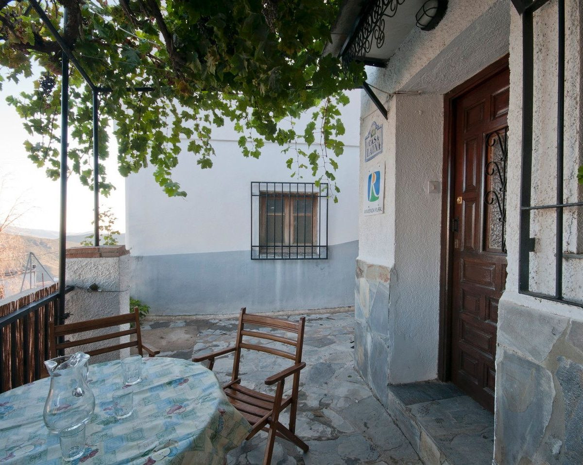holiday rental casa launa alpujarra terrace