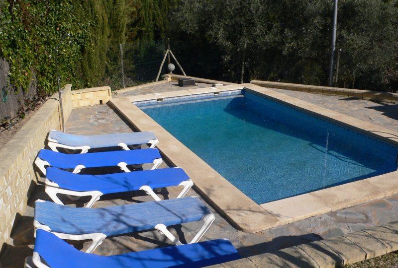 malaga el torcal location de vacances casa aguila piscine privée et chaises longues
