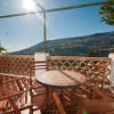 holiday cottage bubion alpujarra terrace and views