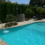 orgiva alpujarras holiday rental villa finca rio seco swimming pool