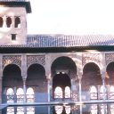 alhambra el partal palace granada andalusia spain