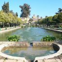 cordoba fountain alcazar gardens andalusia spain