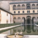 granada alhambra myrtle yard andalusia spain