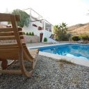 almeria las negras holiday rental casa la palmera pool, terrace and house
