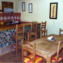 alpujarra orgiva holiday rental villa casa la piedra dinner corner