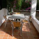 almeria las negras vakantiehuis casa torrecilla terras voor het huis 2