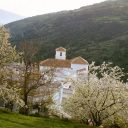bubion alpujarra spring and church