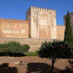 Alcazaba fort Alhambra Granada Spanje