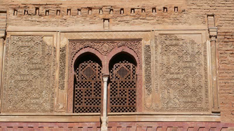 alhambra arch granada andalusia