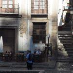 Typisch terras nabij de Paseo de los Tristes Granada