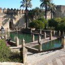 alcazar gardens cordoba andalusia spain