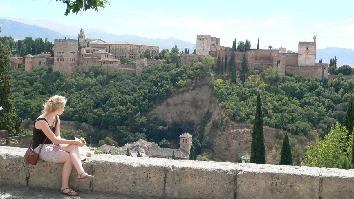 viewsonto alhambra granada