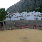 Villaluenga del Rosario Stierkampfarena andalusien spanien spain