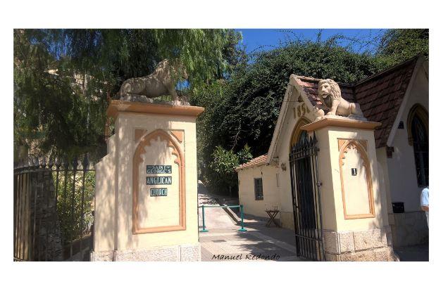 entrance english cemetery malaga