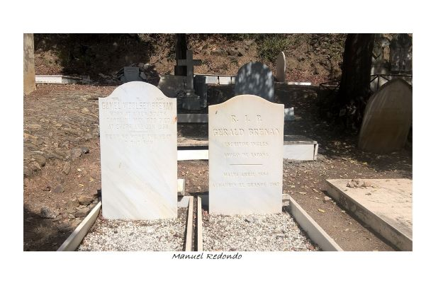 graves of gerald brenan and camel woolsley english cemetery malaga